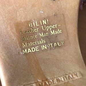 Hillard & Hanson Shoes - Hillard & Hanson Italian leather sandals